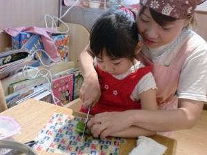 わんわん 3~5歳児 調理保育1